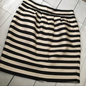 Banana Republic Skirts - Pleated striped skirt by Banana Republic